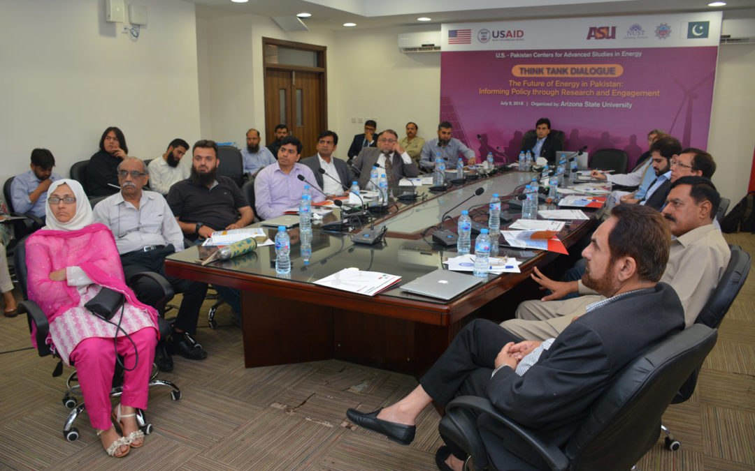 Energy Think Tank meets to discuss energy needs of Pakistan