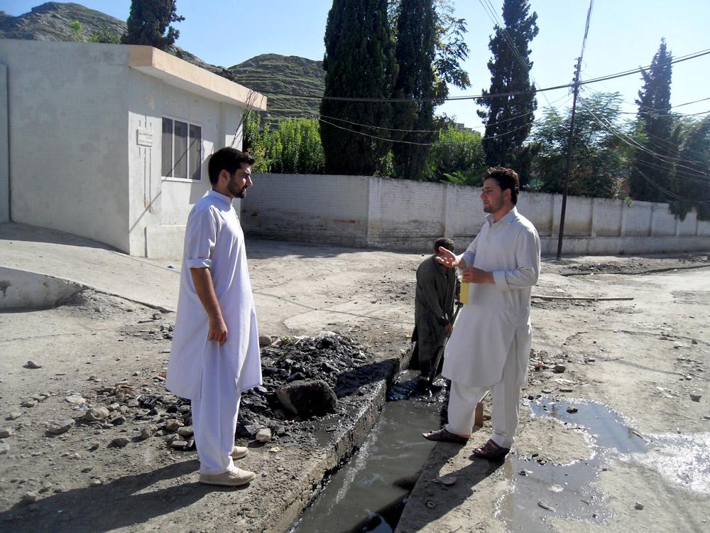 Qais Ali runs Green Pakistan, an organization that works to clean up waste in Pakistan.