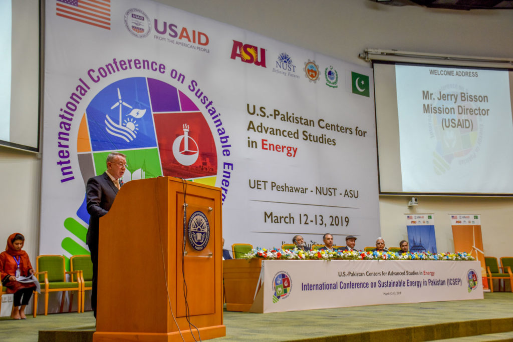 Mr. Jerry Bisson, USAID Mission Director