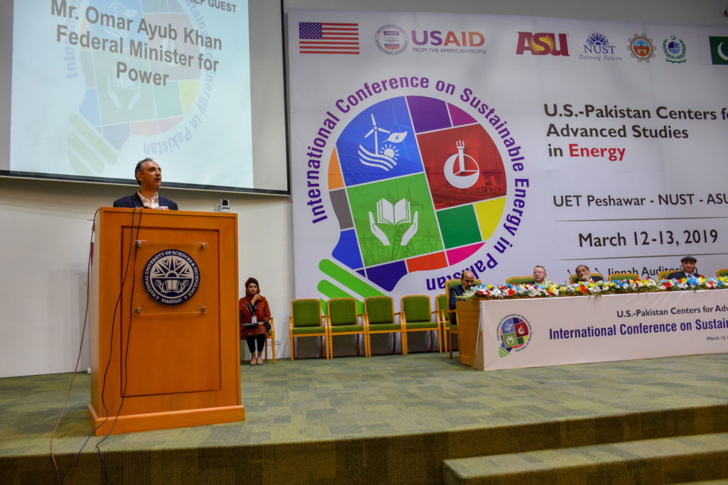 Mr. Omar Ayub Khan, Federal Minister for Power Division