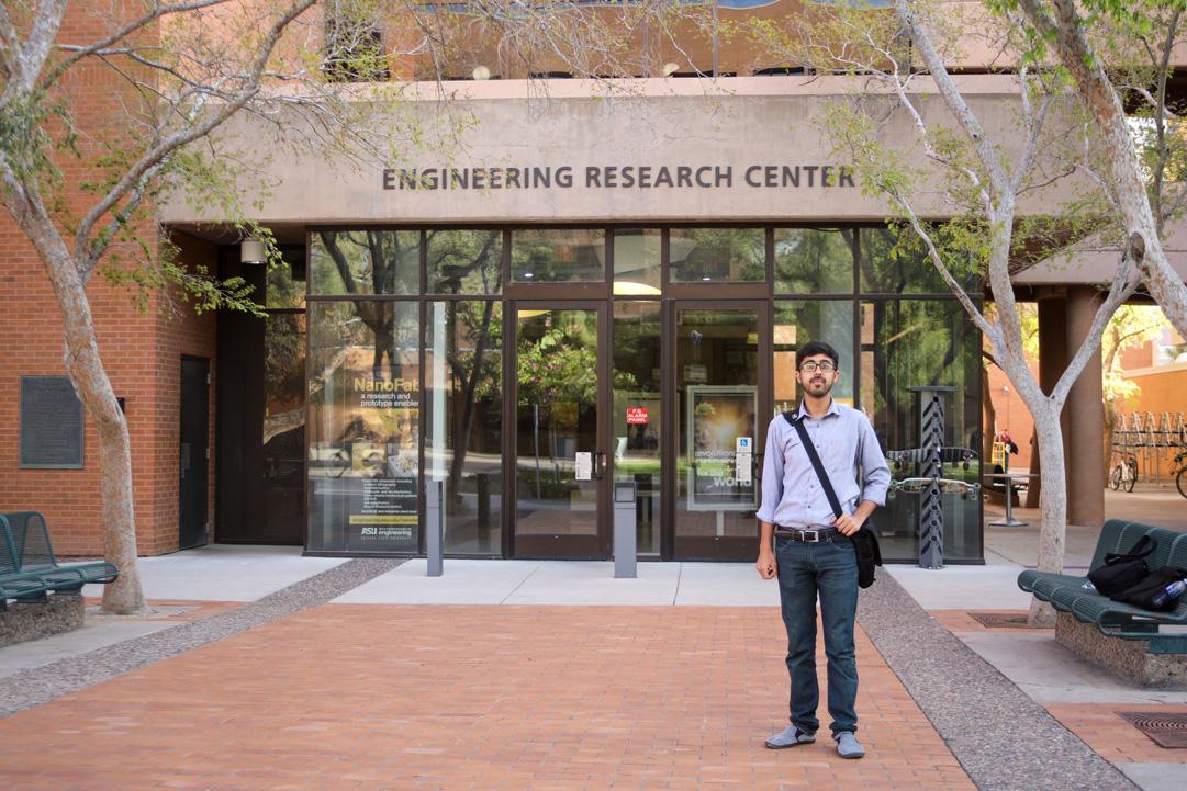 USPCAS-E scholar Asfandyar Khalid