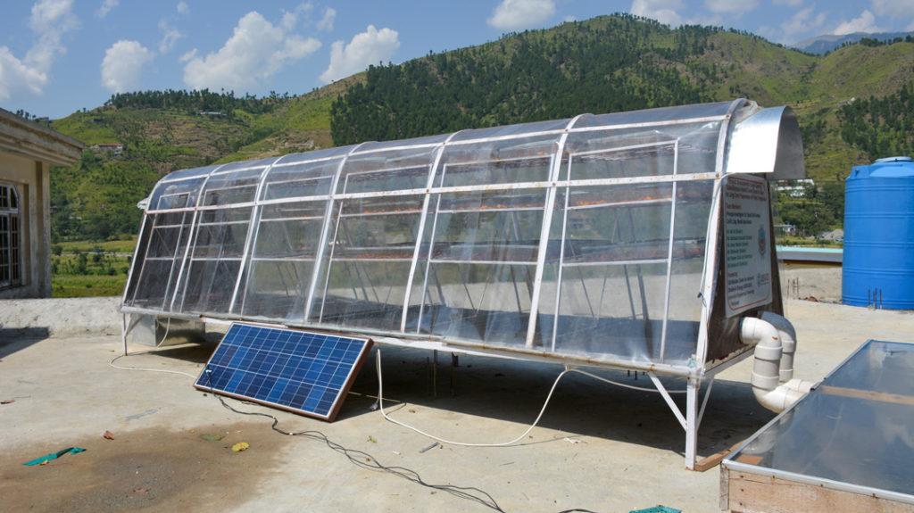 Solar Dryer Prototype